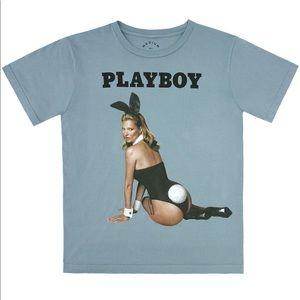 Marc Jacobs Kate Moss Playboy anniversary tshirt